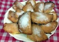 empanadillas de manzana y crema