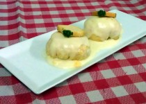 #receta de claritas de gambas y cangrejo