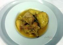 #receta pollo en pepitoria