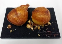 #receta buñuelos de cabrales