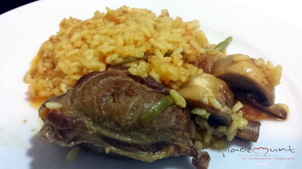 #arroz con carrilleras
