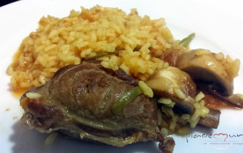 #arroz con carrilleras