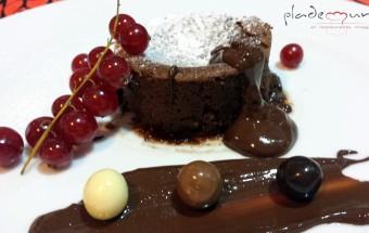#coulant de chocolate