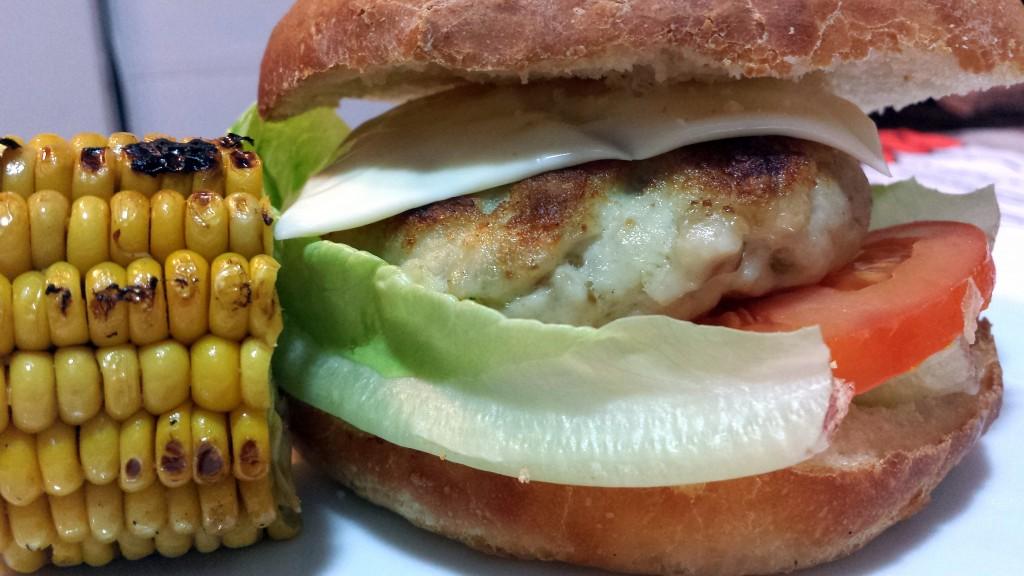 #hamburguesa de cazón