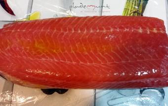#salmón marinado aceite