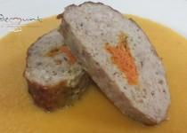 #solomillo ruso relleno de zanahoria al curry
