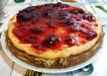 #tarta de queso al horno