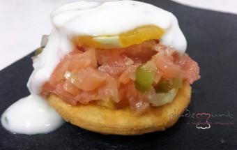 #receta tartar de salmon