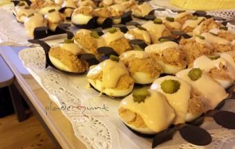 #receta huevos rellenos