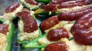 #receta pimiento verde relleno