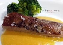 #secreto ibérico a baja temperatura con salsa de queso