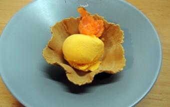 #recetas helado de zanahoria
