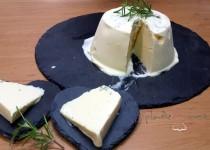 #helado de queso al romero