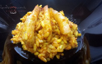 #recetas rissotto de langostinos